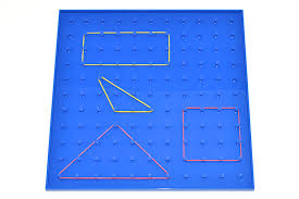 Geoboard made of Plastic