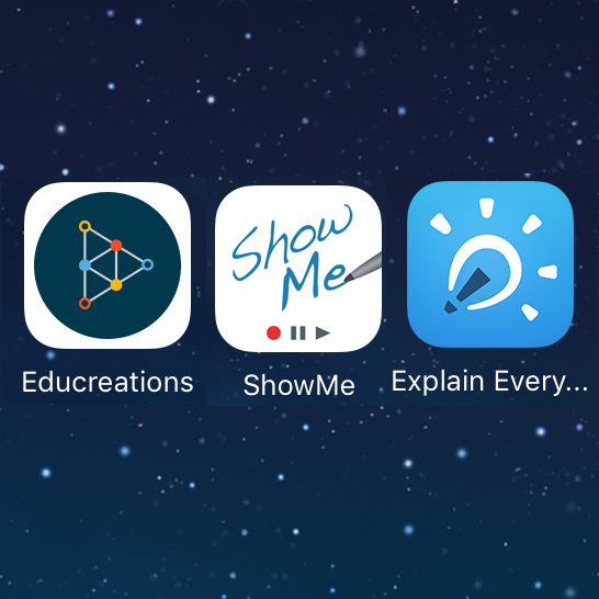 iPad apps for creating screencasts and educational videos