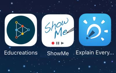 تطبيقات لتسجيل الشاشة وإنشاء فيديوهات على الأيباد
